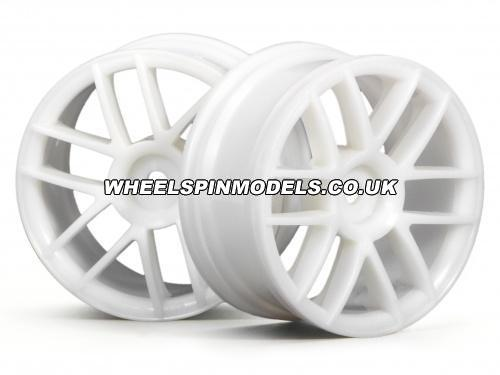 Split 6 Wheel (26mm White)