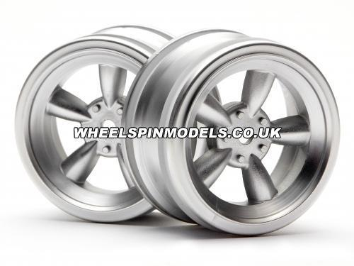 Vintage 5 Spoke Wheel 26mm Matt Chr for 26mm Vint. Tyres