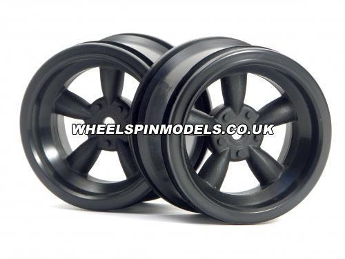 Vint 5 Spoke Whl 31mm/6mm Oset Black Chr for 31mm Vint. Tyres