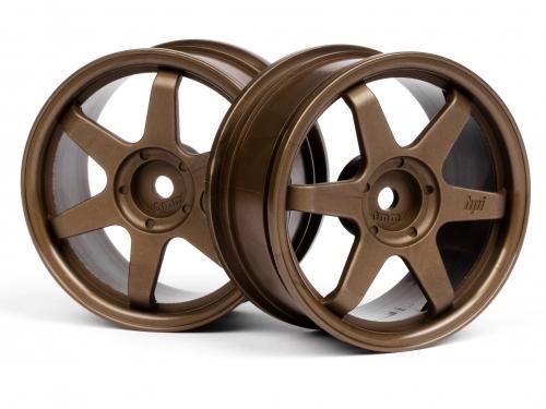 TE37 Wheel 26mm Bronze 0mm Offset for Std TC Tyres