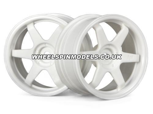 TE37 Wheel 26mm White (3mm Offset)