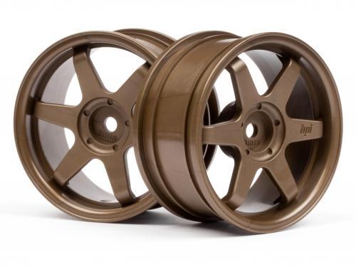 TE37 Wheel 26mm Bronze 3mm Offset for Std TC Tyres
