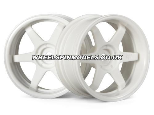 TE37 Wheel 26mm White (6mm Offset)