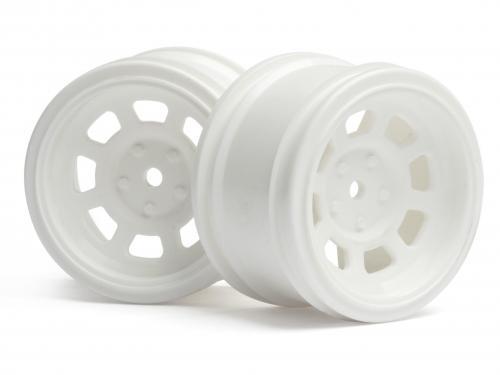 Vintage Car Wheel 31mm White 6mm Offset For 31mm VintageTyres ** CLEARANCE **