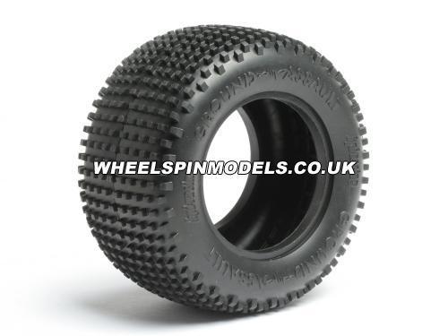 Ground Assault Tyre - D Compound - Pair