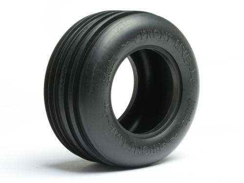 Front Line Ribbed Tyre - D Compound - Pair