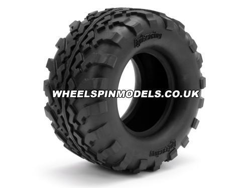 HPI GT2 Tyres - S Compound 160 x 86mm With Foam Insert - 1 Pair