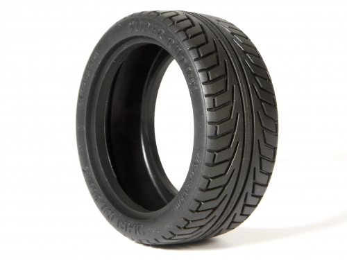 HPI V Super Radial Tyres - 26mm - Pro Compound - 1 Pair