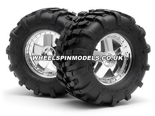 GT Tyre S Compd On GT5 Wheel 160x86mm (1pr)