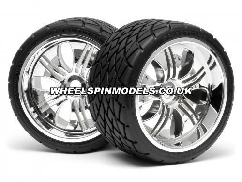 Phaltline Tyre 7inch On Tremor Wheel Chrome with 17mm Hex