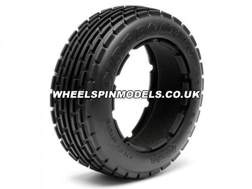 HPI Dirt Buster Front Ribbed Tyre - fits HPI Baja 5B - Pair