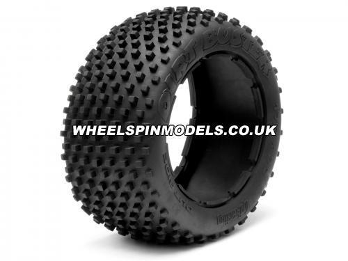 HPI Dirt Buster Rear Spiked Tyre - fits HPI Baja 5B Rear - Pair