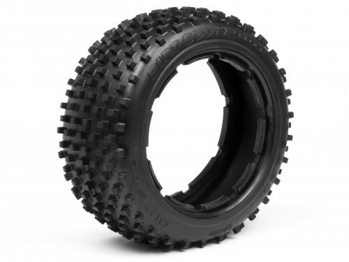 HPI Dirt Buster Front Block Tyre - M Compound - fits HPI Baja 5B - Pair