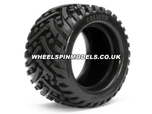 Goliath Tyre 7 inch 2 Pcs Savage