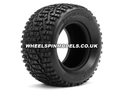 Aggressors Tyre S Cmpd 139X74 mm For 88X56mm Wheels Only