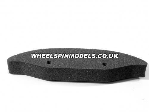 Foam Bumper Grey (HPI Cars) (Sprint/Pro3/Nitro3)