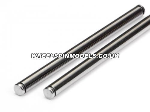 Shaft 3x47mm (2Pcs) Stainless Steel H Duty Type