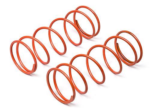 Big Bore Shock Spring (Orange, 60mm, 98Gf, 2 Pcs)