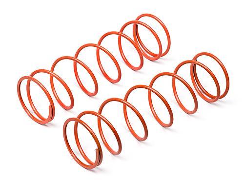 Big Bore Shock Spring (Orange, 76mm, 74Gf, 2 Pcs)