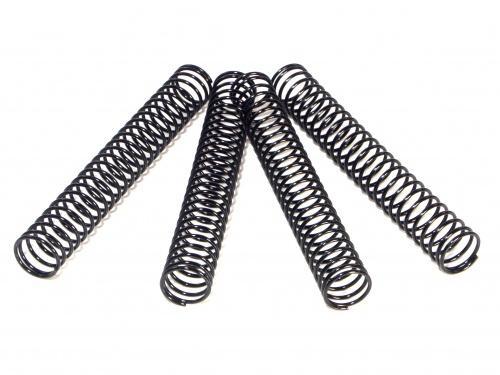 Shock Spring (Black/4Pcs) 14.4x117x1.4mm 26 Coils