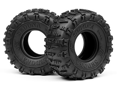 HB SEDONA TIRE - 2.2 (White/Rock Crawler/2pcs)