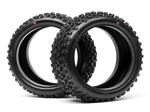 HB PROTO TIRE (2pcs/Pink/1/8 Buggy)