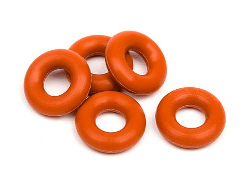 Silicon O-Ring P-3 (Red) (5Pcs)