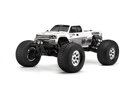 HPI GT Gigante Truck Body - Standard Fit To Savage XL - Clear