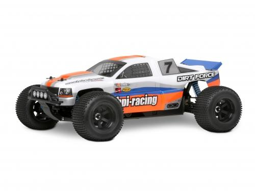 HPI Dirt Force Clear Body - Fits HPI MT2 / Firestorm / E-Savage / Rush / Etc