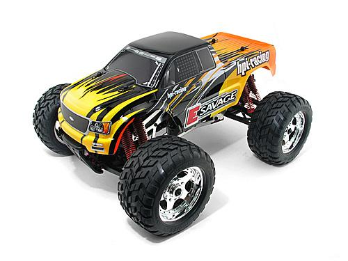 HPI Electric GT-1 Truck Body Shell - Clear