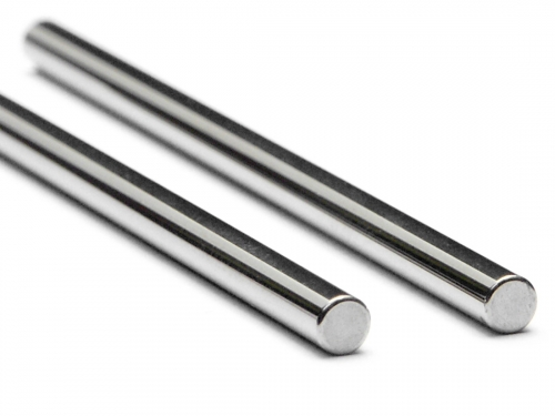 Shaft 3 X 60mm (Silver/2pcs)