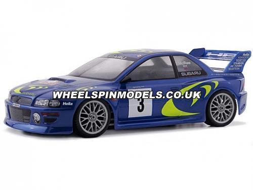 Subaru Impreza WRC 98 Bodyshell (190mm Clear)