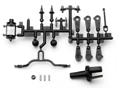 HPI Micro RS4 Servo Arm + Driveshaft Set