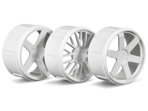 Wheel Set (White)(Micro RS4)