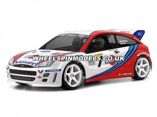 HPI Ford Focus WRC Clear Bodyshell - 200mm