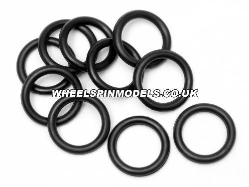 O-Ring P10 10x2mm Black (10Pcs)