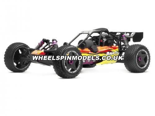 HPI Baja 5B - Clear Unpainted Lower Body Set - (2Pcs)