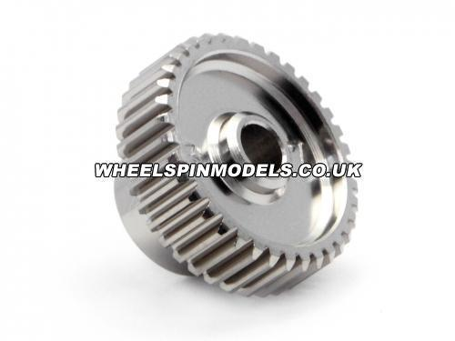 Aluminium Pinion Gear 37 Tooth Hard Anodized 64DP
