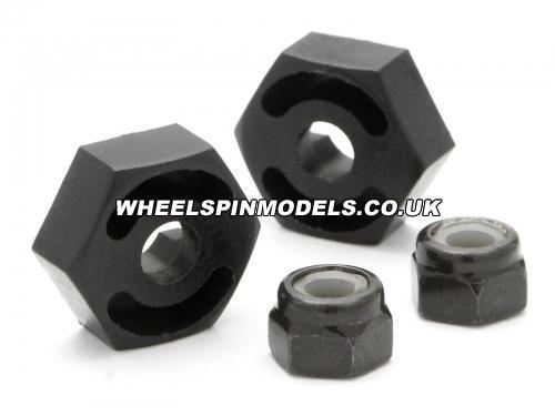 Wheel Adapter (4Pcs) (Hex - Pin & Nut/Sprint)