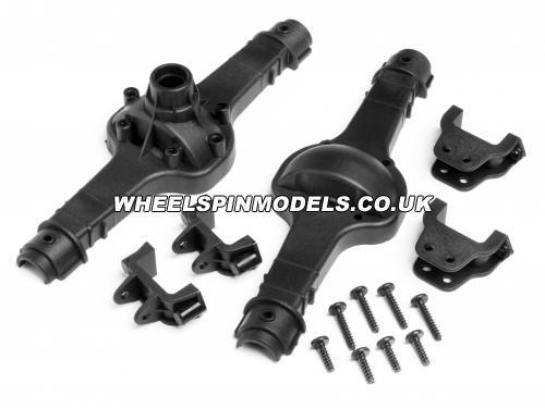 Axle/Differential Case Set Fr / Rr - Wheely King