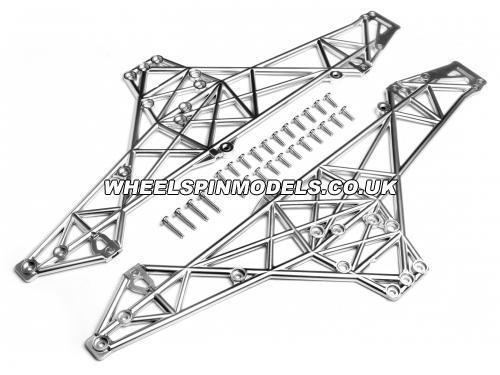 Main Chassis Set (Matt Chrome) - Wheely King