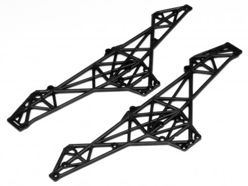HPI Wheely King Main Chassis Set - Black