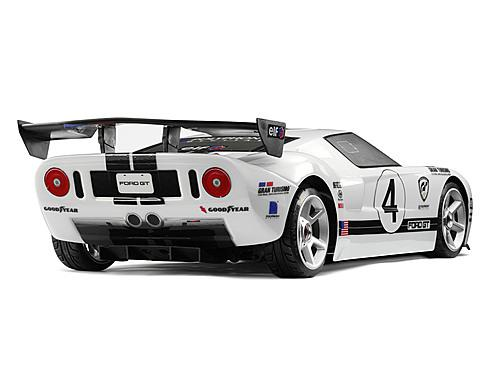HPI Gt Wing Set (Type D/10Th Scale/Black)