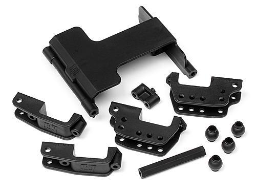 Servo Mount/High Link Bracket Set For HP87633