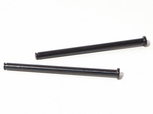 Flange Shaft 4x62mm (Black/2Pcs)