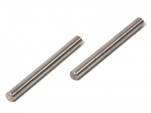 Shaft 4x46mm (Silver/2Pcs)