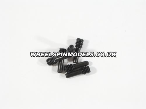 Screw Shaft 4x2.5x12mm (6Pcs)