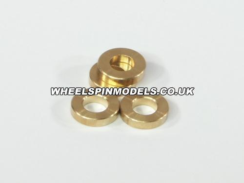 Washer 5x10x3mm (Brass/4Pcs)