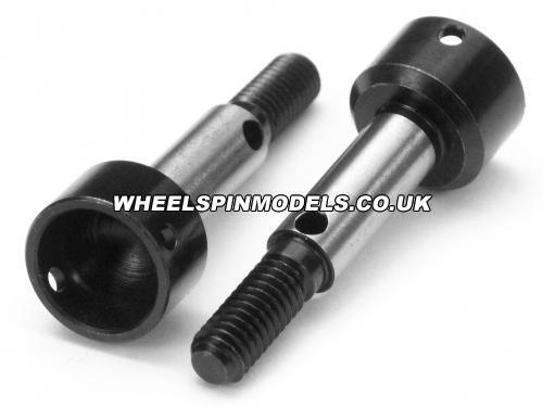 Axle 5.0x30mm (Black/2Pcs) Spares for HP86198