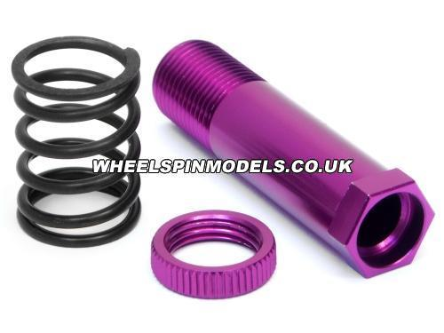 Steering Post 12x47mm (Purple) (Savage for 87197)